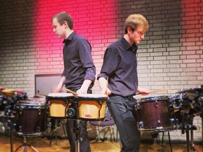 Gravity Percussion Duo